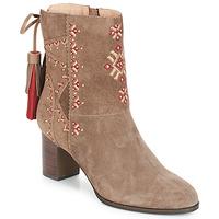 Shoes Women Ankle boots André TZIGANE Beige
