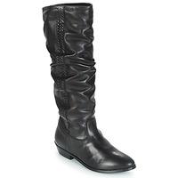 Shoes Women High boots André TORONTO Black
