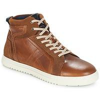 Shoes Men Hi top trainers André RANDONNEUR Brown