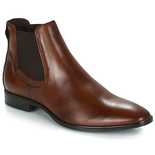 Shoes Men Mid boots André ETNA Brown