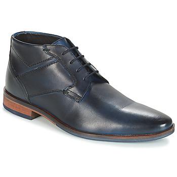 Shoes Men Mid boots André PILOTE Blue