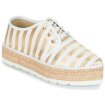 Shoes Women Espadrilles André ZEBRE White
