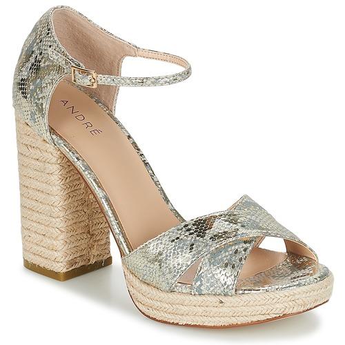 Shoes Women Sandals André TAPAGEUSE Beige