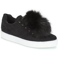 Shoes Women Low top trainers André POMPON Black