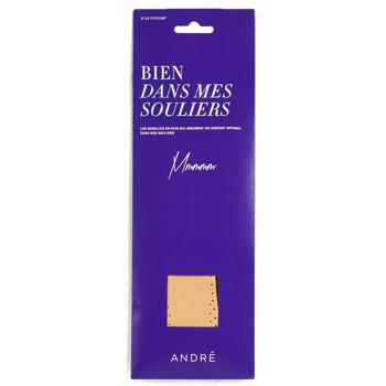 Shoe accessories Accessories André SEMELLE CUIR Beige