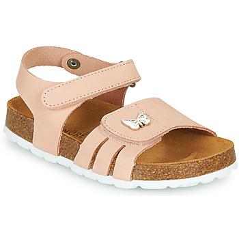 Shoes Girl Sandals André PAPILLON Pink