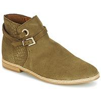 Shoes Women Mid boots André IDAHO Kaki