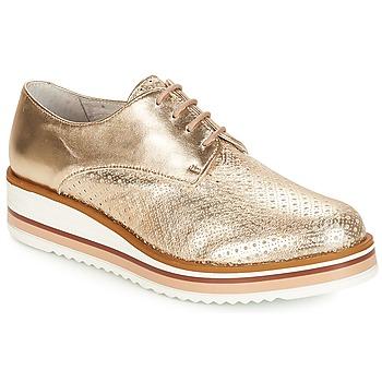 Shoes Women Derby Shoes André FLORIANE Gold