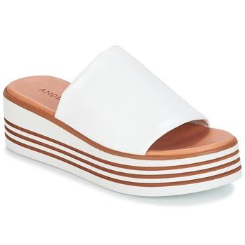 Shoes Women Sandals André LARRY White