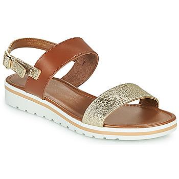 Shoes Women Sandals André ZANDORA Gold