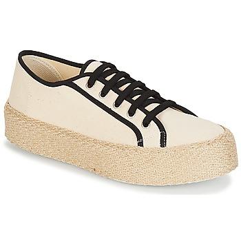 Shoes Women Low top trainers André LODGE Ecru