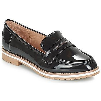 Shoes Women Loafers André PORTLAND Black