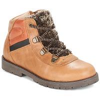 Shoes Boy Mid boots Citrouille et Compagnie JODILAEM Cognac