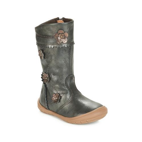 Shoes Girl High boots Citrouille et Compagnie JAMATIS Bronze