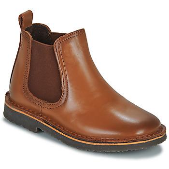 Shoes Children Mid boots Citrouille et Compagnie JOVETTE Camel