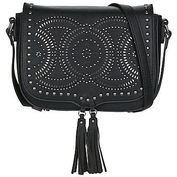 Bags Women Shoulder bags Fuchsia FLORIDE Black