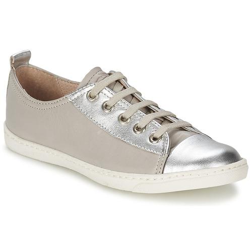 Shoes Girl Low top trainers Shwik SLIM LO CUT Silver