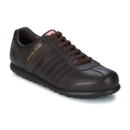 Shoes Men Derby Shoes Camper PELOTAS XLITE Brown