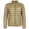 Emporio Armani EA7  TRAIN CORE ID M DOWN LIGHT  mens Jacket in Brown