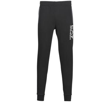 Clothing Men Tracksuit bottoms Emporio Armani EA7 TRAIN TRITONAL M PANTS CH BR Black / Grey