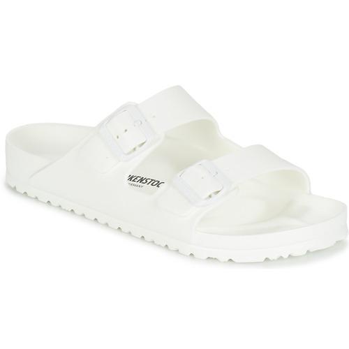 Shoes Men Mules Birkenstock ARIZONA EVA White