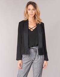 Clothing Women Jackets / Blazers Scotch & Soda BOUKOUM Black