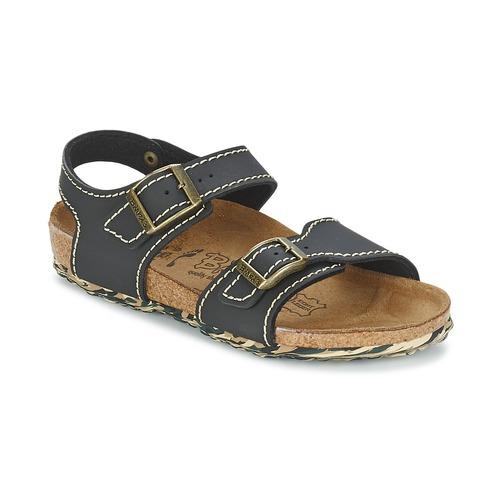 Shoes Girl Sandals Birki's NEW YORK Neoprene /  black