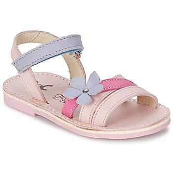Shoes Girl Sandals Citrouille et Compagnie ERTUNA Multicoloured