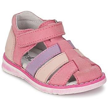 Shoes Girl Sandals Citrouille et Compagnie FRINOUI Lilac / Pink / Fuschia