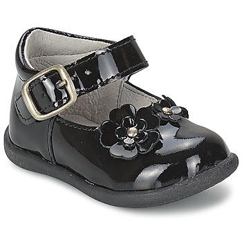 Shoes Girl Flat shoes Citrouille et Compagnie ASKO Black