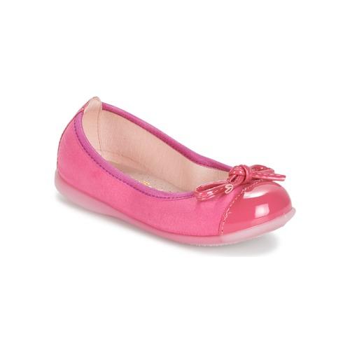 Shoes Girl Flat shoes Citrouille et Compagnie MIXOUBET Fuschia