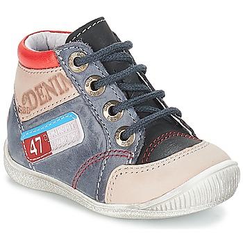 Shoes Boy Mid boots GBB PANCRACE Vte / Gray-jean