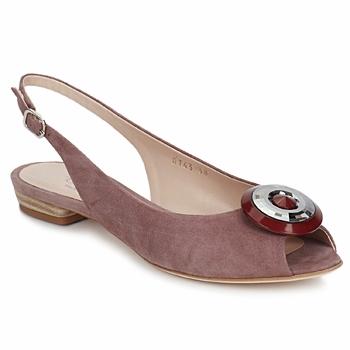 Shoes Women Sandals Fericelli PITOUCLI Camoscio /  malva