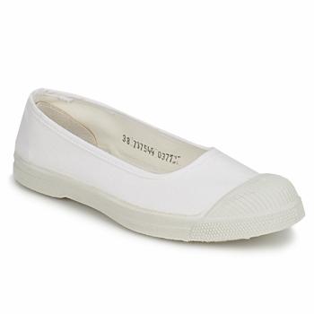 Shoes Women Flat shoes Bensimon BALLERINE White