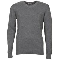 Clothing Men jumpers Teddy Smith PULSER Grey