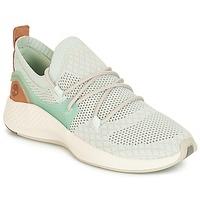 Shoes Women Low top trainers Timberland FlyRoam Go Knit Chukka Blue / Flower