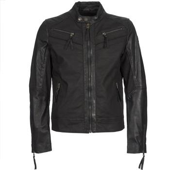 Clothing Men Leather jackets / Imitation leather Redskins DRAKE Black