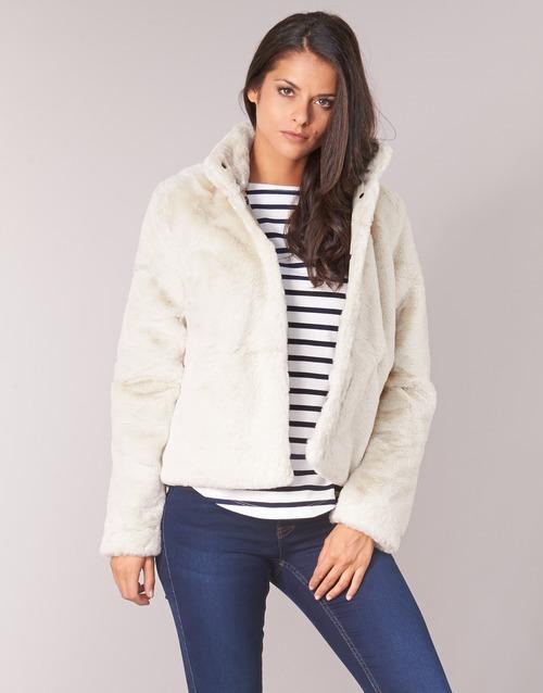 Clothing Women Jackets Only ONLVIDA Beige