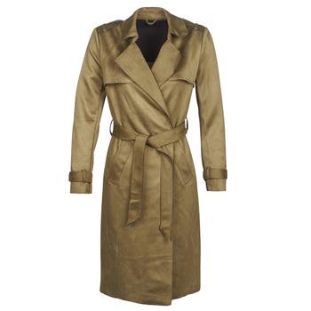 Clothing Women Trench coats Only ONLRIBA Kaki