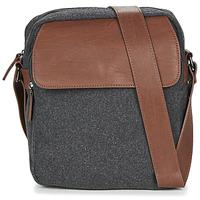 Bags Men Messenger bags André LENNY Grey / Brown