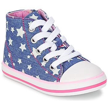 Shoes Girl Hi top trainers Chicco CREMIXI DENIM / Etoile