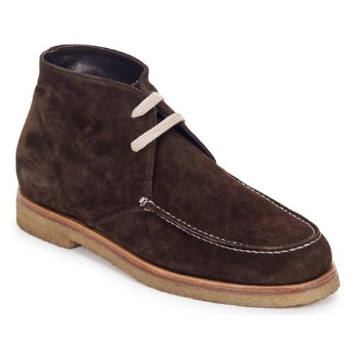 Shoes Women Mid boots Swamp POLACCHINO SU Brown / Dark
