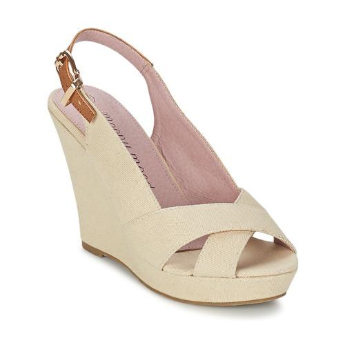 Shoes Women Sandals Moony Mood OKALM Beige