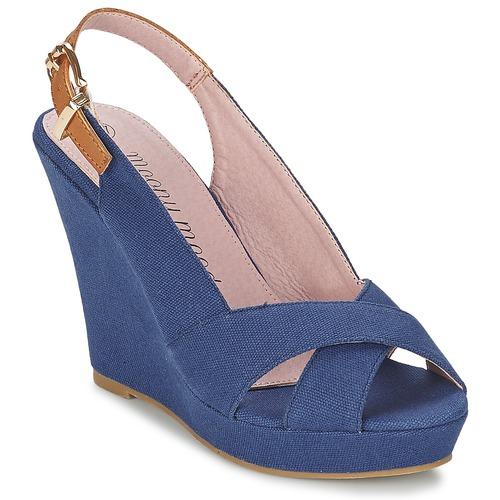 Shoes Women Sandals Moony Mood OKALM Marine