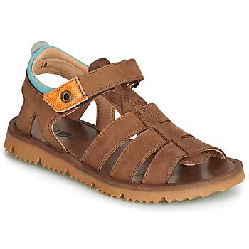 Shoes Boy Sandals GBB PATHE Brown