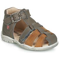 Shoes Boy Sandals GBB PRIGENT Grey