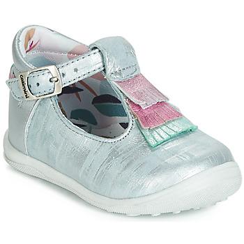 Shoes Girl Flat shoes Catimini BIMA Vte / Blue / Silver