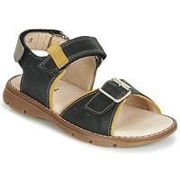 Shoes Boy Sandals Catimini SUREAU Black
