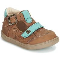 Shoes Boy Sandals GBB AREZO Brown / Blue