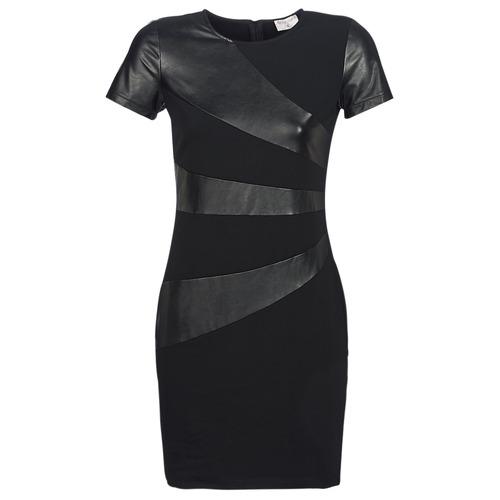 Clothing Women Short Dresses Moony Mood JOULOU Black